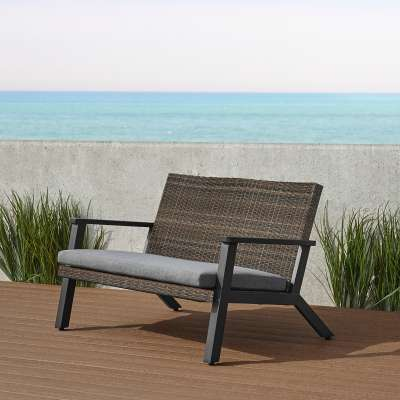Norwood Outdoor Loveseat Patio Loveseat Outdoor Two Seat Bench Patio Furniture
