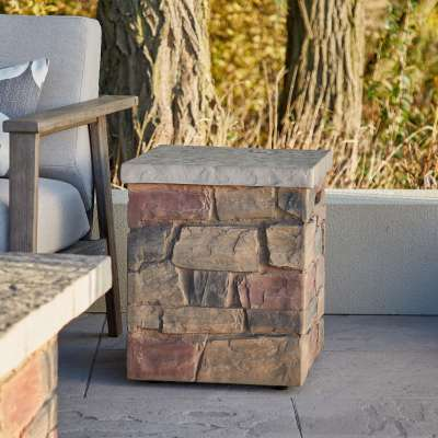 Sedona Propane Tank Cover for Outdoor Propane Fire Table Fire Pit Fire Bowl