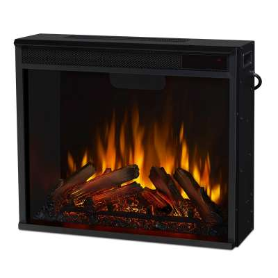 Real Flame 4199 VividFlame Color Changing Firebox Insert Indoor Electric Fireplace Heater for Mantel Portable Fireplace