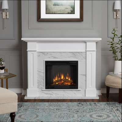Kipling Indoor Electric Fireplace with Mantel Portable Heater