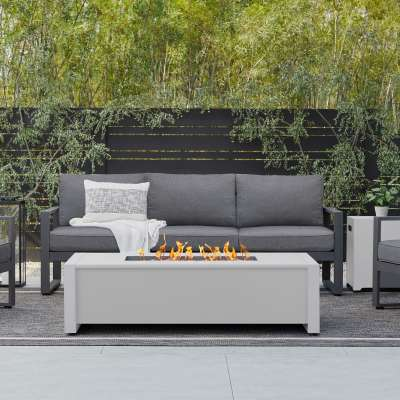 Keenan Propane Fire Pit Fire Bowl Outdoor Fireplace Fire Table for Backyard or Patio