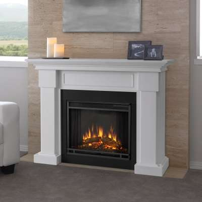 Hillcrest Indoor Electric Fireplace with Mantel Portable Heater