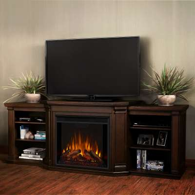 Valmont Electric Fireplace Media Console