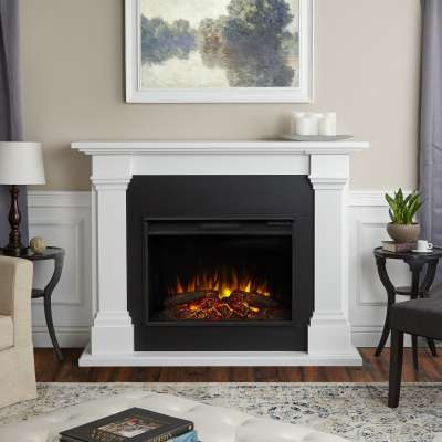 Callaway Grand Indoor Electric Fireplace with Mantel Portable Heater