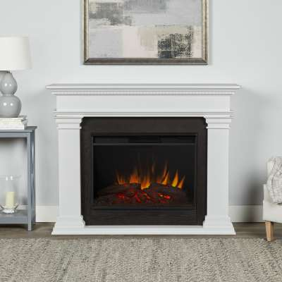 Antero Grand Indoor Electric Fireplace with Mantel Portable Heater
