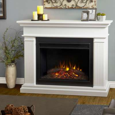 Centennial Grand Indoor Electric Fireplace with Mantel Portable Heater