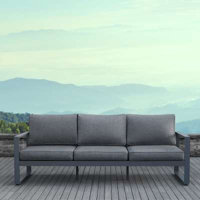 Baltic Outdoor Sofa Three Seat Patio Sofa Outdoor Couch Patio Furniture