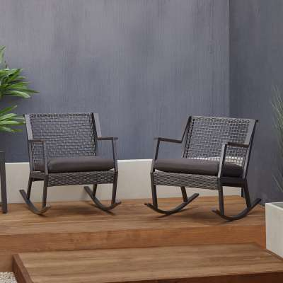 Calvin Outdoor Chair Set Rocking Chair Patio Chair Set Patio Furniture