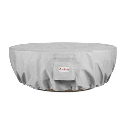 Sedona Round Fire Bowl Protective Fabric Cover with Drawstring for Fire Pit Fire Table Outdoor Fireplace