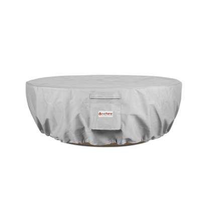 Riverside Fire Bowl Protective Fabric Cover with Drawstring for Fire Pit Fire Table Outdoor Fireplace